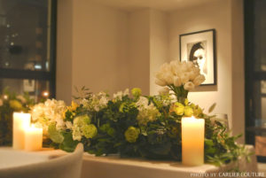 装花 メインテーブル メイン装花 グリーン ウェディング